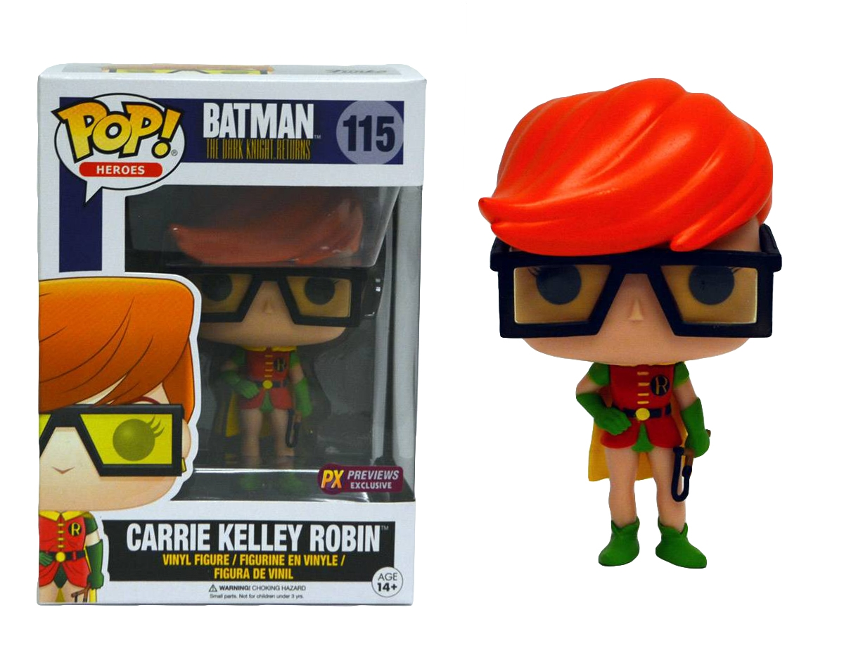 POP! Heroes 115: Batman The Dark Knight Returns- Carrie Kelly Robin (PX Previews Exclusive)