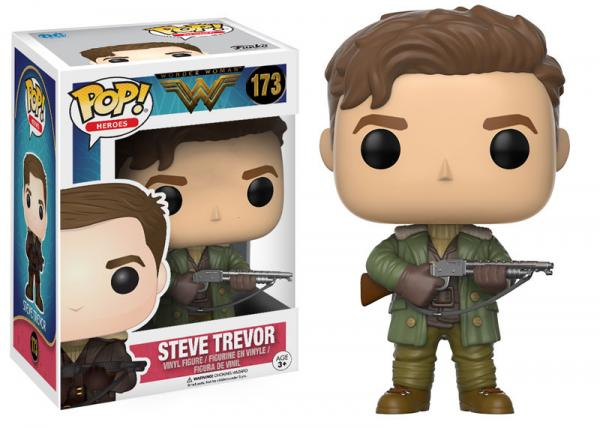 POP! Heroes 173: Wonder Woman- Steve Trevor