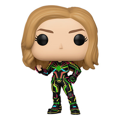 POP! Marvel: Captain Marvel - Neon Suit