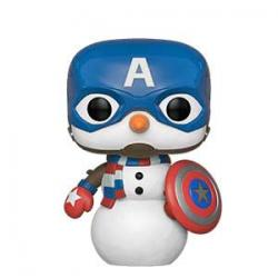 POP! Marvel: Holidays - Captain America Snowman