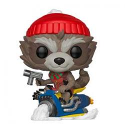 POP! Marvel: Holidays - Rocket with Hat