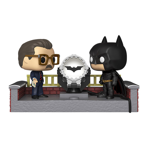 POP! Moments: DC Batman with Light Up Signal