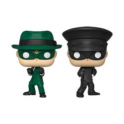 POP! Movies: The Green Hornet - Green Hornet and Kato (New York City Comicon)