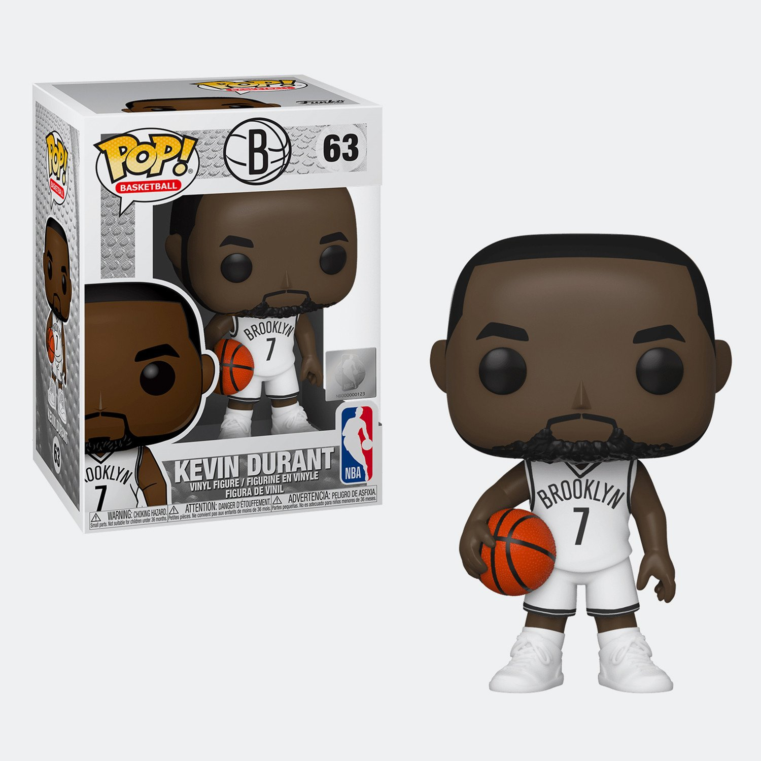 POP! Sports 063: NBA- Kevin Durant (Nets)