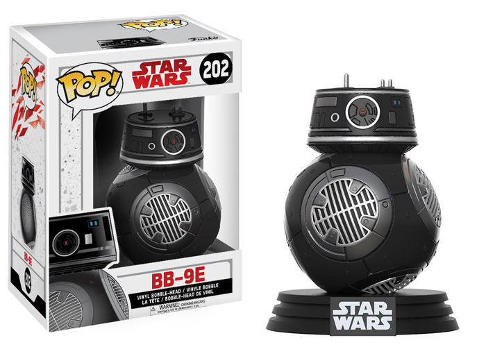 POP! Star Wars 202: The Last Jedi - BB-9E [DAMAGED]