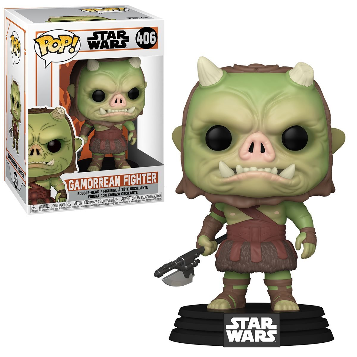 POP! Star Wars 406: Mandalorian - Gamorrean Fighter