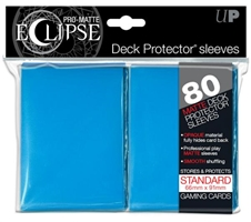 PRO-Matte Eclipse Standard Deck Protector Sleeves: Light Blue