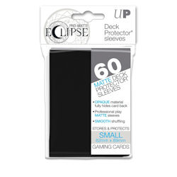 PRO-Matte Eclipse Standard Japanese Deck Protector Sleeves: Black