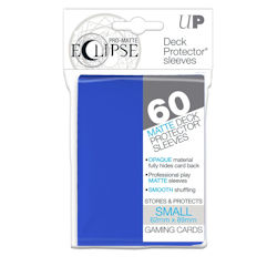 PRO-Matte Eclipse Standard Japanese Deck Protector Sleeves: Pacific Blue