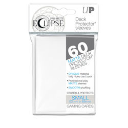 PRO-Matte Eclipse Standard Japanese Deck Protector Sleeves: White