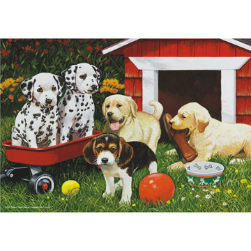 Perre Group Puzzles: Puppy Playmates