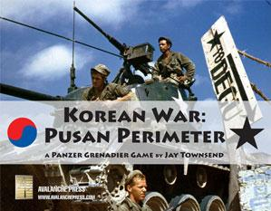 Panzer Grenadier: Korean War, Pusan Perimeter