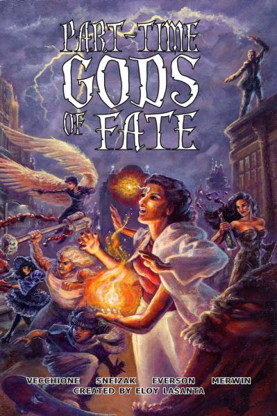Part-Time Gods Of Fate (HC)
