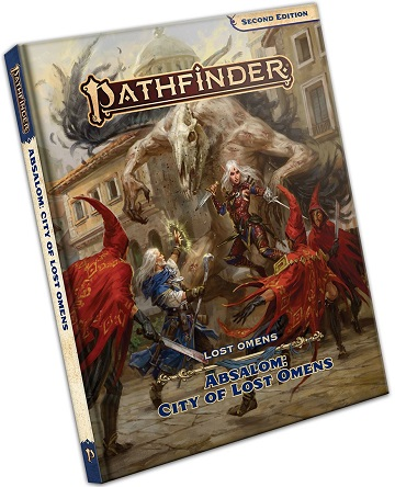 Pathfinder 2E: Lost Omens: Absalom - City of Lost Omens
