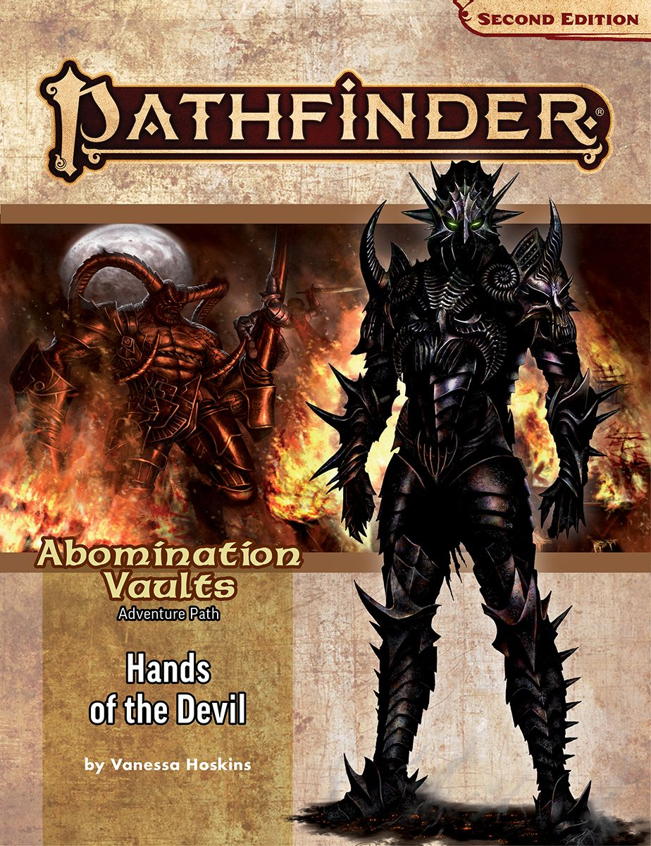 Pathfinder 2E Adventure Path: Abomination Vaults 2: Hands of the Devil