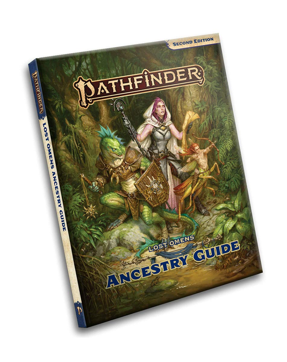 Pathfinder 2E: Lost Omens Ancestry Guide