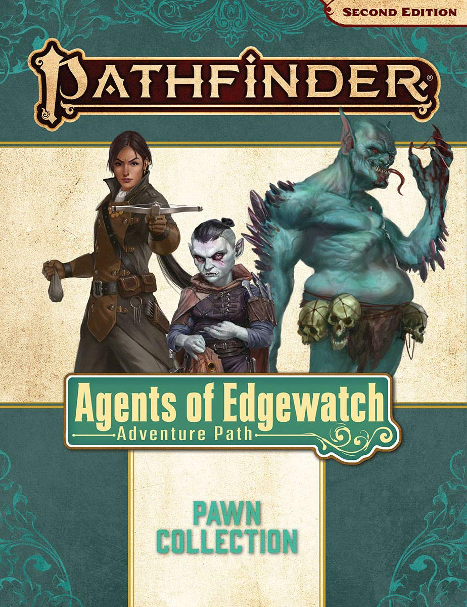 Pathfinder 2E Pawns: Agents of Edgewatch Adventure Path