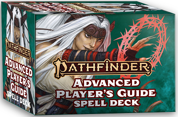 Pathfinder 2E: Spell Cards - Advanced Players Guide [DAMAGED]