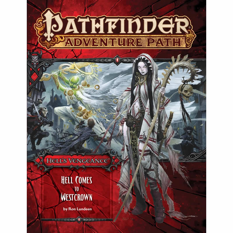 Pathfinder Adventure Path: Hell's Vengeance #6: Hell Comes to Westcrown [Damaged]