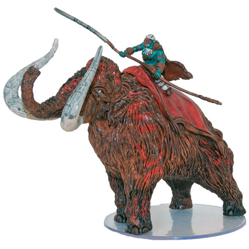 Pathfinder Battles: Darklands Rising: #36b Mammoth Rider (U)