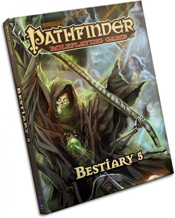 Pathfinder: Bestiary 5 [Damaged]