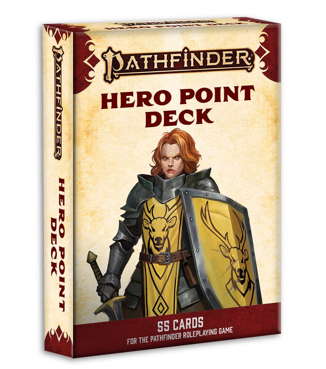 Pathfinder Cards 2E: Hero Point Deck