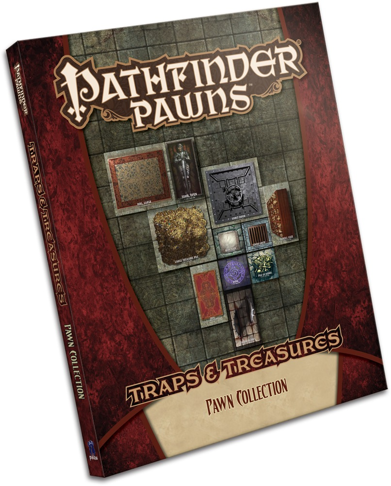 Pathfinder Pawns: Traps & Treasures Collection