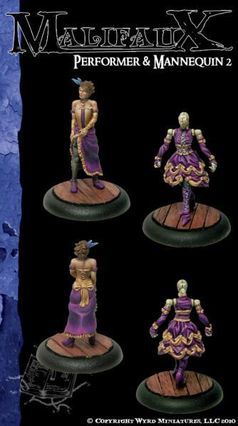 Malifaux: Arcanists: Performer & Mannequin 2 [SALE]