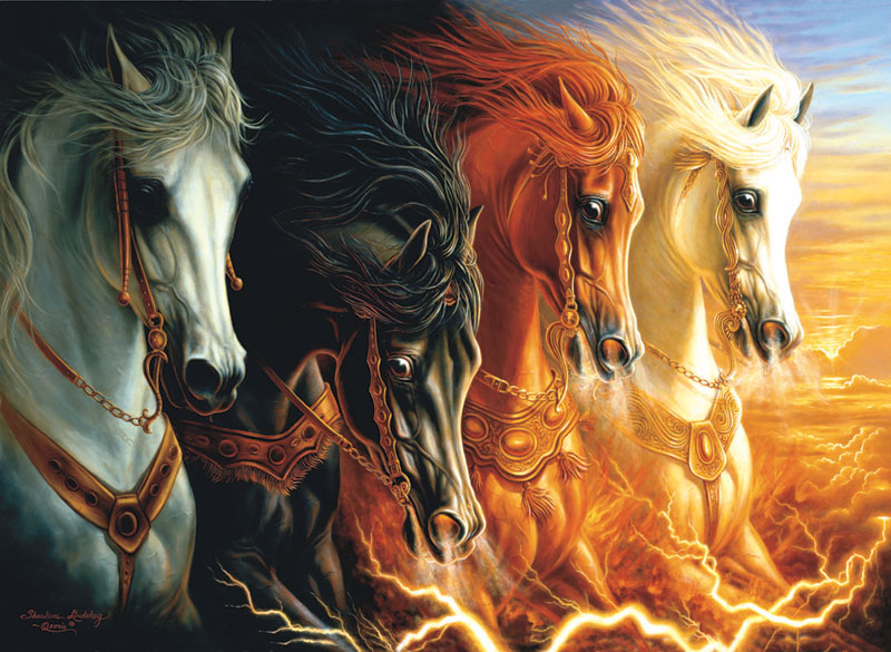 Perre Group Puzzles: Four Horses Of Apocalypse