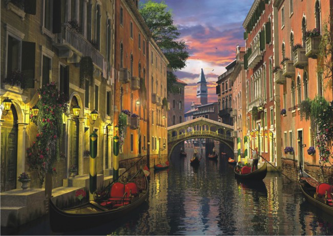 Perre Group Puzzles: Venice At Dusk