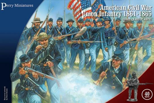 Perry: 28mm American Civil War: Union Infantry 1861-65