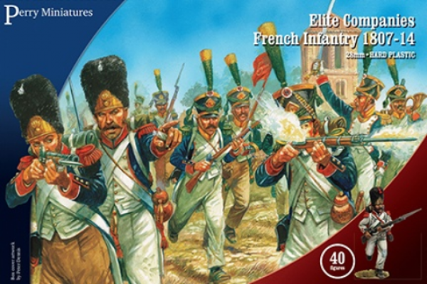 Perry: 28mm Napoleonic: Elite Companies French Infantry 1807-14