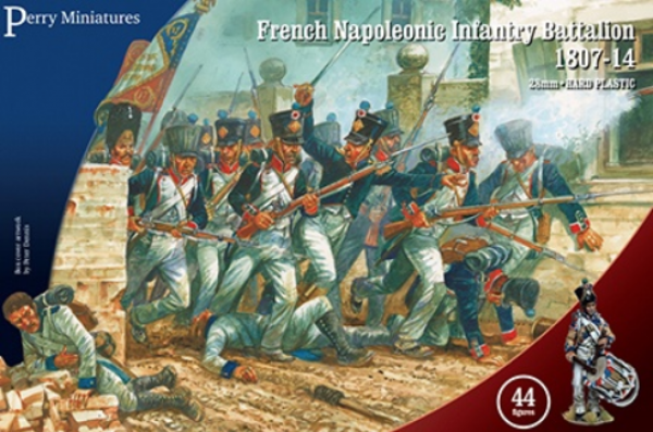 Perry: 28mm Napoleonic: French Napoleonic Infantry Battalion 1807-14
