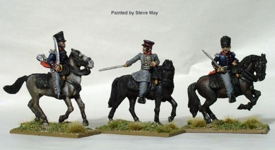 Perry: 28mm Napoleonic: (Prussian) Field Officers (Mounted)