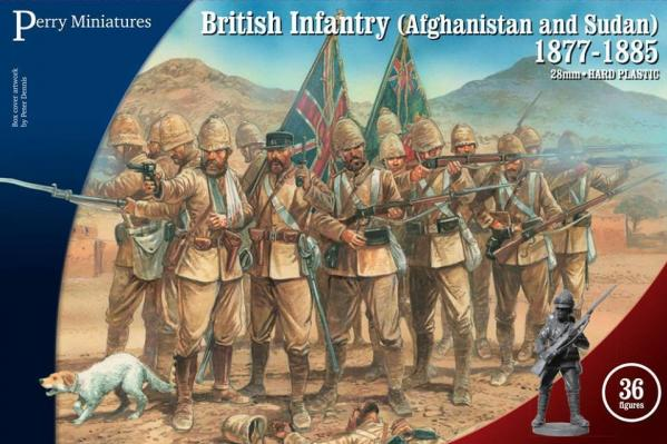 Perry: 28mm Victorias Little Wars: British Infantry (Afghanistan & Sudan) 1877-1885