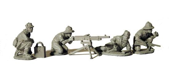 Perry: 28mm WWII: British 3 Mortar and 4 crew