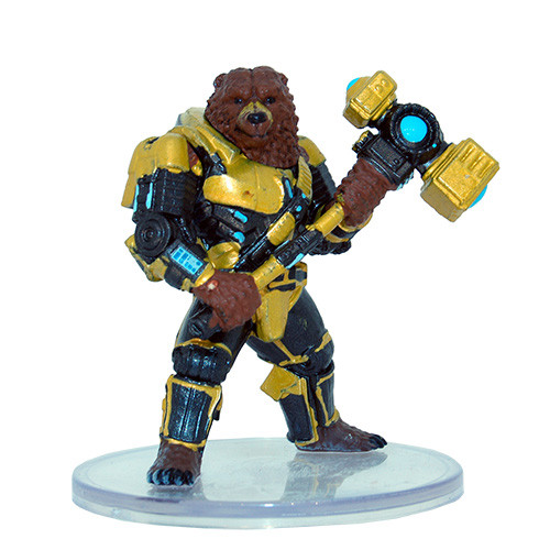 Planets of Peril: #16 Uplifted Bear Avenger (U)