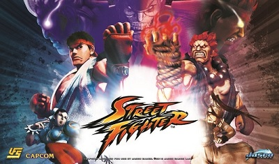 Playmat: STREET FIGHTER - COLLAGE