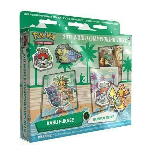 Pokemon: 2017 World Championships Deck: Samurai Sniper