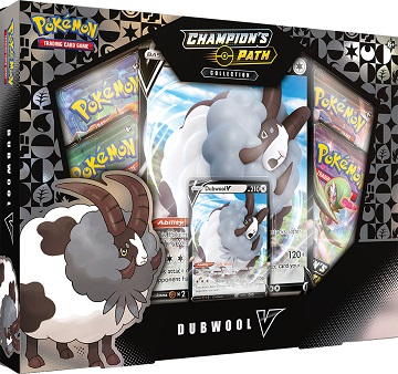Pokemon: Champions Path: Dubwool V Collection