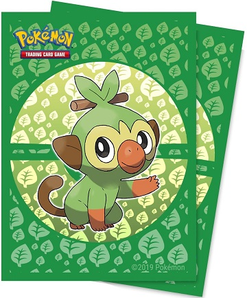 Pokemon Deck Protector Sleeves: Sword and Shield - Grookey (65 Count)