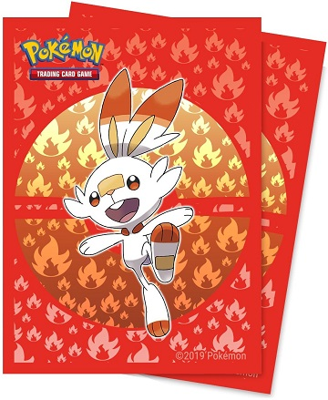 Pokemon Deck Protector Sleeves: Sword and Shield - Scorbunny (65 Count)