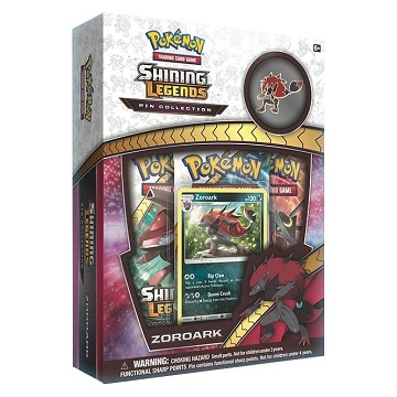 Pokemon: Shining Legends Zoroark- Pin Box
