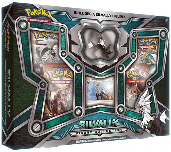 Pokemon: Silvally Figure Box
