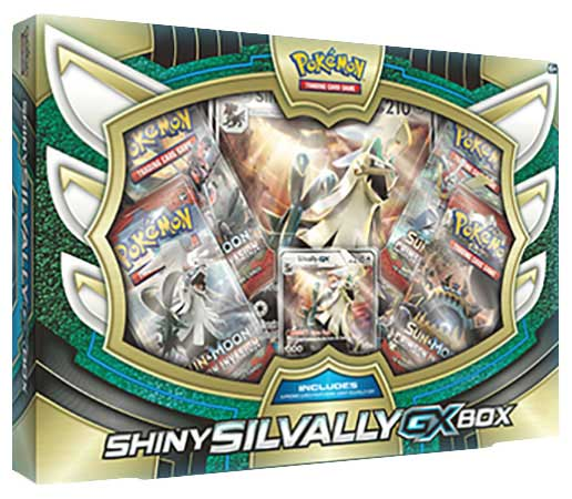 Pokemon: Silvally Shiny GX Box
