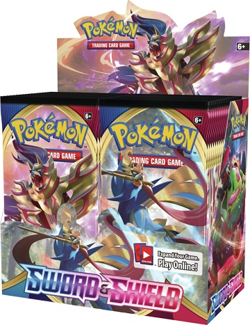 Pokemon: Sword and Shield Booster Pack