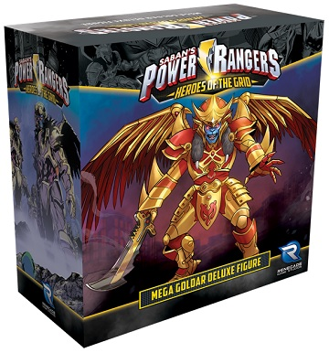 Power Rangers: Heroes of the Grid- Mega Goldar Deluxe Figure