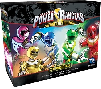 Power Rangers: Heroes of the Grid- Zeo Ranger Pack