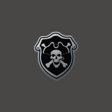 Privateer Press Logo Pin