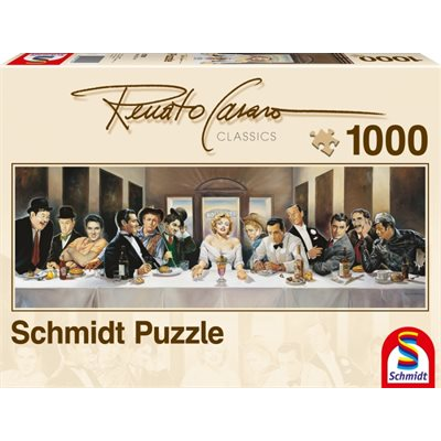 Schmidt Spiele Puzzle: Invitation  (1000 Pieces) [Damaged]